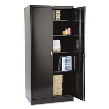 (TNN2470BK - Tennsco Black Deluxe Storage Cabinet)