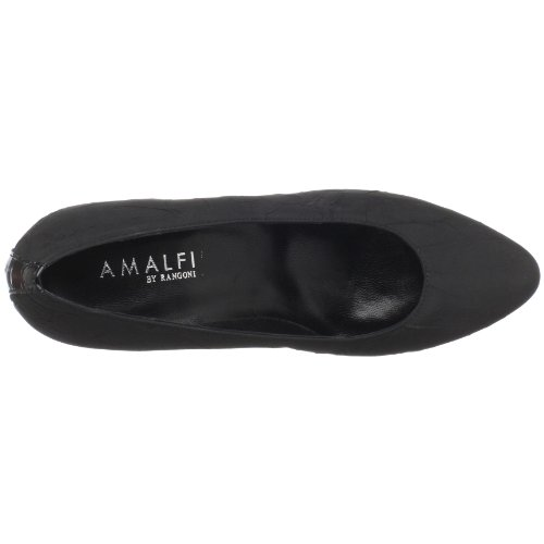 Amalfi By Rangoni Kvinna Daniel Pump Svart Taft / Black Patent