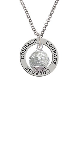 raised-silver-tone-flowers-with-clear-crystals-spinner-courage-affirmation-ring-necklace