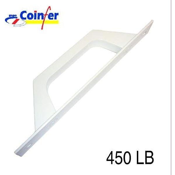Tecnac - Asa Aluminio Puerta Corredera Blanco 450: Amazon.es ...