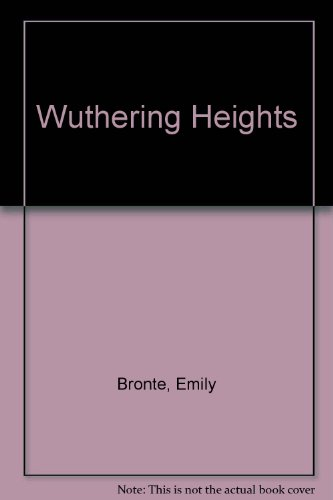 wuthering heights annotated bib Wuthering heights in a nutshell published in 1847, wuthering heights was the only novel emily brontë published, and she died the year after it came out it is the story of heathcliff, a dark outsider who falls in love with the feisty catherine and rages and revenges against every obstacle that prevents him from being with her.