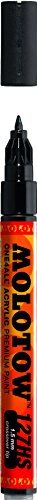 - Molotow ONE4ALL Acrylic Paint Marker, 1.5mm, Signal Black, 1 Each (127.412)