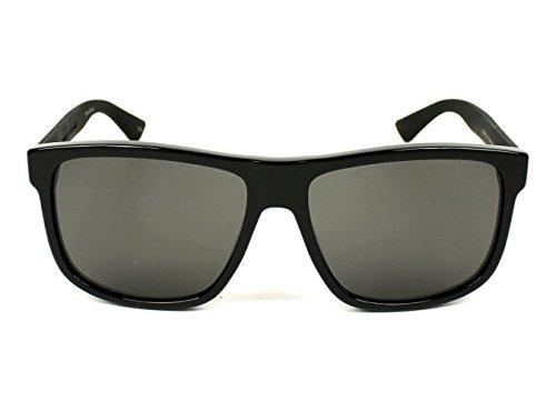 Sunglasses Gucci GG 0010 S- 001 BLACK / GREY