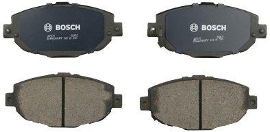 Bosch BP571 QuietCast Premium Semi-Metallic Disc Brake Pad Set For Lexus: 1999-2000 SC300, 1992-2000 SC400; Front ()
