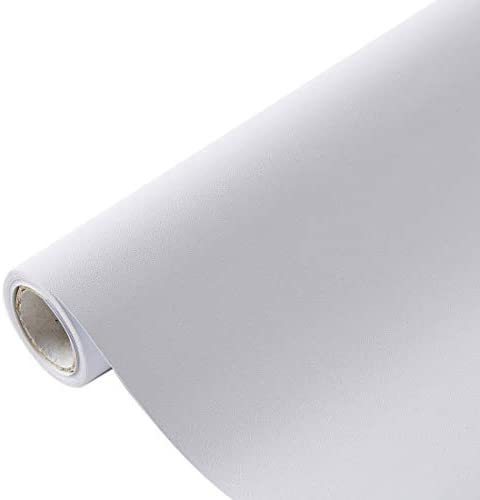VELIMAX Static Cling Whiteout Window Film 100 Light Blocking White Blackout Window Cover Privacy for Day Sleep Heat Control UV Rejection 35.4 x157.4