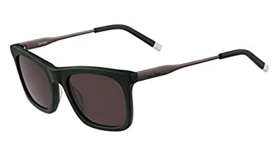 Calvin Klein Men's Ck4319s Square Sunglasses, Matte Green, 54 mm