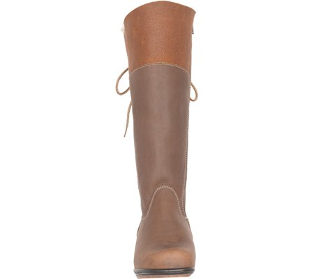 6d0cd0163 Martino Women's Canadian Blitz Knee High Boot Brown Grizzly Leather/Suede  Size 8 W: Amazon.ca: Shoes & Handbags