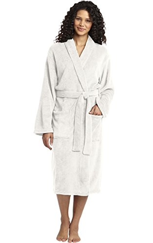 (InkThread Ink Thread Personalized Robe Luxury Plush Soft Microfleece Customize With Monogram, Name, Or Wording)