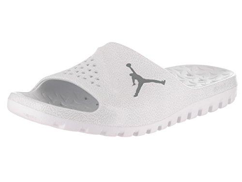 2 Super grigio Team Jordan Argento Graphic bianco Slide Infradito fly qgP5PxwXB