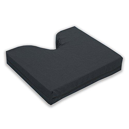 Spine-Align Flotation Gel Cushion, Black