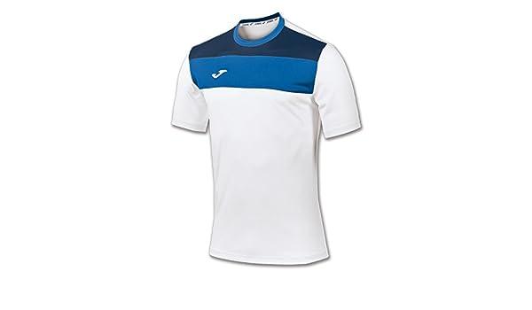 Joma Mens Crew Short Sleeve Football T-Shirt