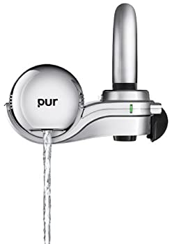 PUR 3-Stage Horizontal Faucet Mount Chrome FM-9400B - use filtered water for your cannabis plants