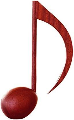 [해외]음표 페이퍼 웨이트 8 분 음표 (eighth note) 멜로디 나무 【 방목장 】 / Note Paper Weight 8th Note Melody Wooden [Paddoc