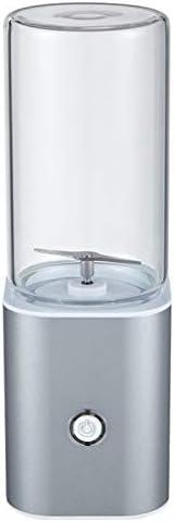 HUBINGRONG Exprimidor Batidora portátil, USB Personal del Recorrido del Mezclador del Jugo de la Copa de Fitness Guardián con Actualizado 2 Cuchillas y Motor más Potente