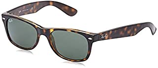 RAY-BAN RB2132 New Wayfarer Sunglasses, Tortoise/Green, 52 mm (B000GLP4D6) | Amazon price tracker / tracking, Amazon price history charts, Amazon price watches, Amazon price drop alerts