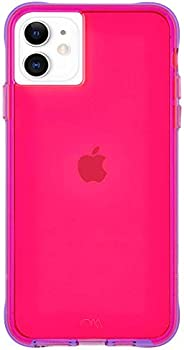 Case-Mate - iPhone 11 Case - Tough NEON - 6.1 - Pink/Purple Neon