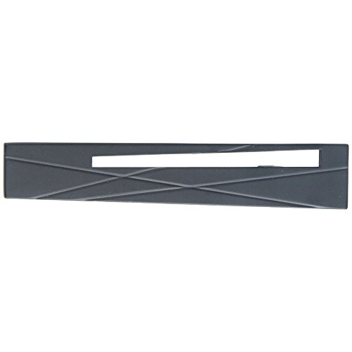 Modernist Modernist Collection - Atlas Homewares 253R-BL 5-Inch The Moderns Collection Modernist Pull - Right, Matte Black