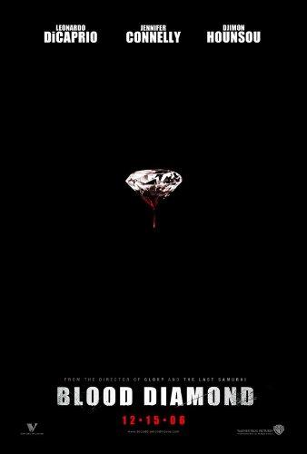 Blood Diamond Movie Poster 1 Sided Original Leonardo Dicaprio