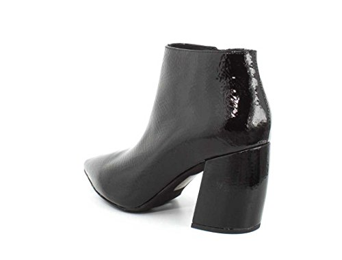 Jeffrey Campbell Womens Total Ankle Boot Black Crinkle Patent ol4gePRCT