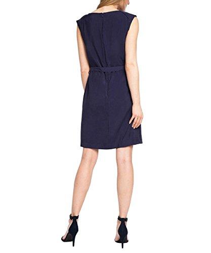Robe Manches Navy Femme Esprit 400 Bleu 036EE1E001 Courtes fHwnxqAW