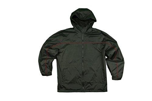 Cold Storage Foul Weather Gear Men's Rain Parka X-Large Black ()
