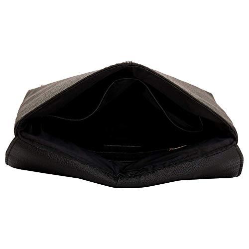 Sacoche femme à Designer pour Lupo Sac bandoulière Noir O Pocket Lapis Multi Eboney TR766q