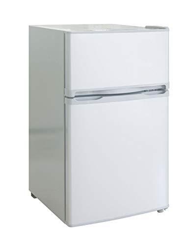 RCA FR832I-E-White RFR832WHITE RFR832 Refrigerator/Freezer, White (Renewed)