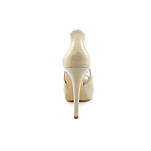 Indovina Le Donne Di Harrah3 Peep Toe D-orsay Pumps Nude