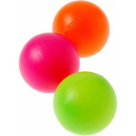 Assorted Color Plastic Balls (1 Dozen), 1.57