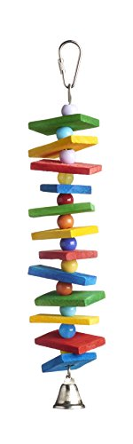 Prevue Pet Products 60952 Bodacious Bites Stack Bird Toy, Multicolor