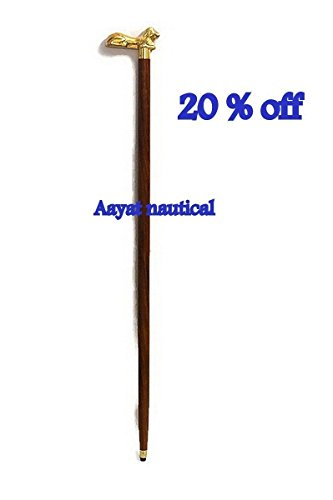 Black Friday Deals Week - StarZebra Walking Stick Canes Elegant Carved Bird Bras
