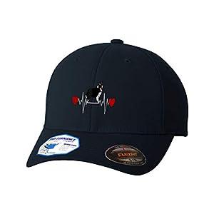 Flexfit Hats for Men & Women Dog Border Collie Lifeline A Embroidery Polyester 47