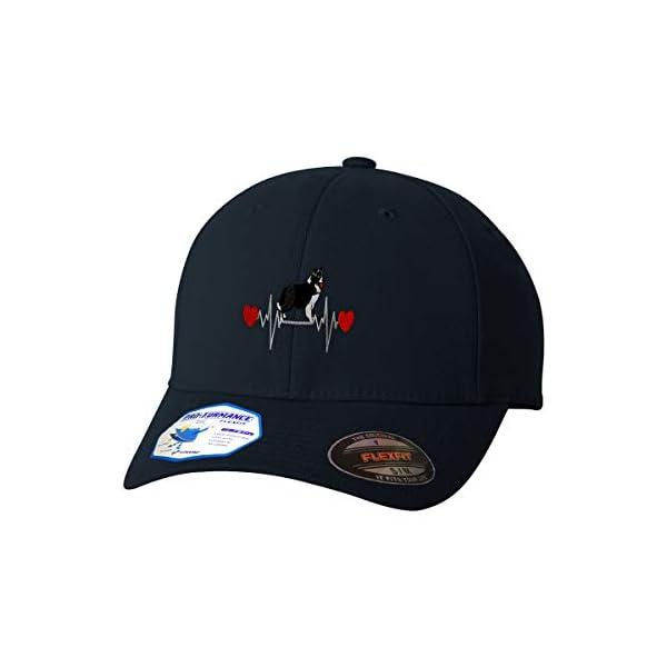Flexfit Hats for Men & Women Dog Border Collie Lifeline A Embroidery Polyester 1