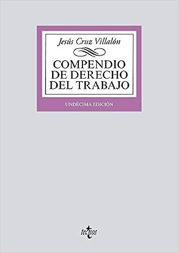 Compendio De Derecho Del Trabajo por Jesús Cruz Villalón epub