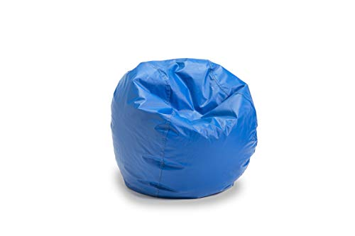 Bigger and Better! Child Size Bean Bag Chair (Blue), 100% American Made ()