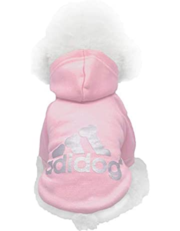77562596 Moolecole Adidog Pet Dog Hooded Clothes Apparel Puppy Cat Warm Hoodies Coat  Sweater for Small Dogs