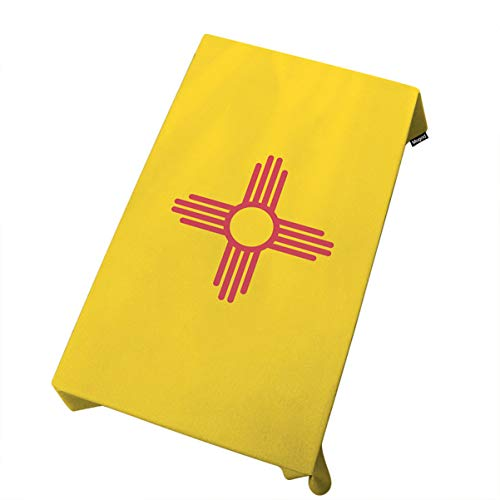 (Mugod Flag Tablecloth New Mexico State Flag Symbol Dining Room Kitchen Decoration Rectangular Table Cover 60 W X 84 L)