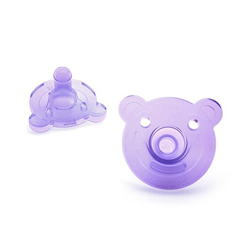 Large Product Image of Philips Avent Soothie Shape, 0-3 months, pink/purple, 2 pack, SCF194/02