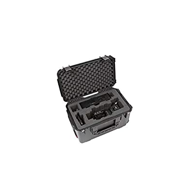Image of Backboards SKB Cases 3i-221312BKB iSeries Blackmagic URSA Broadcast Camera Case, URSA Viewfinder Compartment, Accessory Pocket, Pull Handle and Wheels, Ultra High-Strength Polypropylene Copolymer Resin
