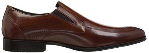 Stacy Adams Mens Fairfax Bike Toe Slip-on Loafer Cognac