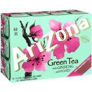 Arizona Green Tea With Ginseng & Honey, 11.5 oz, 12ct(Case of - Green Case Honey