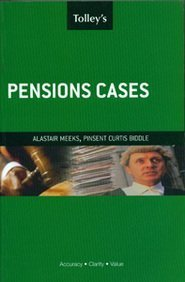 Tolley's Pensions Cases pdf