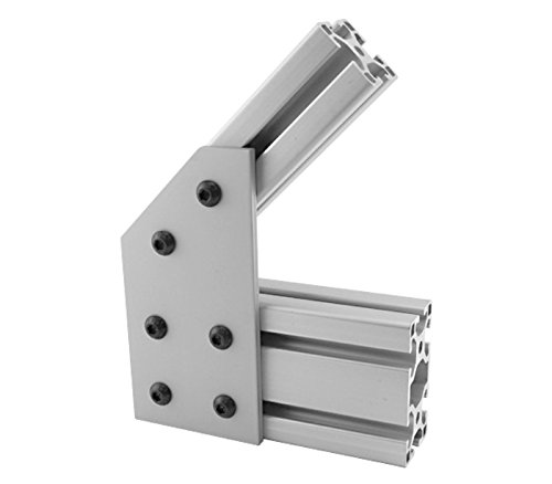 80/20 Inc., 40-4345, 40 Series, 6-Hole 45 Degree Angle Joining (4345 Series)
