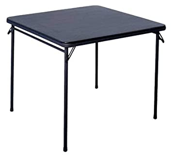 Amazon.com: Cosco 14 – 86,36 cm 619-blk2 Negro Mesa Plegable ...