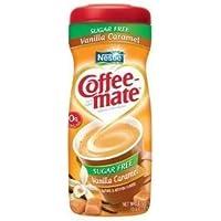 Coffee-mate, Vanilla Caramel, Sugar Free Powder Creamer, 10.2oz (Pack of 4)