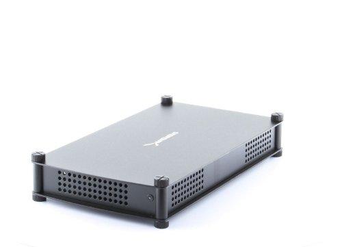 USB 3.0 3.5 SATA External Hard Drive Enclosure (Black) - 9