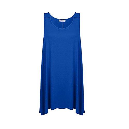 MISS n MAM - Camiseta sin mangas - para mujer azul real