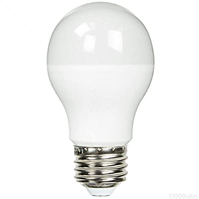 TCP 60 Watt Equal Cool White LED Light Bulb - Dimmable A19 - LED10A19D41K