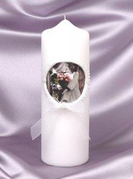 Kim Anderson Pillar Candle - 1