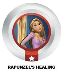 Disney Infinity Series 3 Power Disc Rapunzel's Healing (from Tangled) (Disney Tangled Wii)